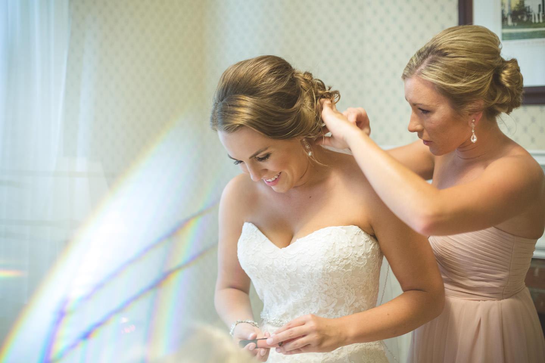 Dearborn-Wedding-Bride-Fixing-Hair