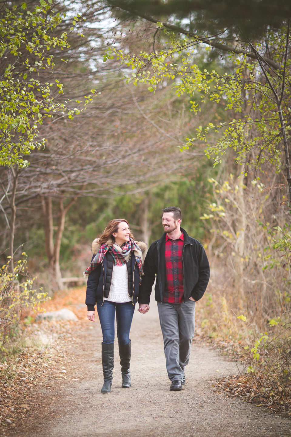 Bloomfield Hills-Engagement-Photos-Cranbrook-Walk