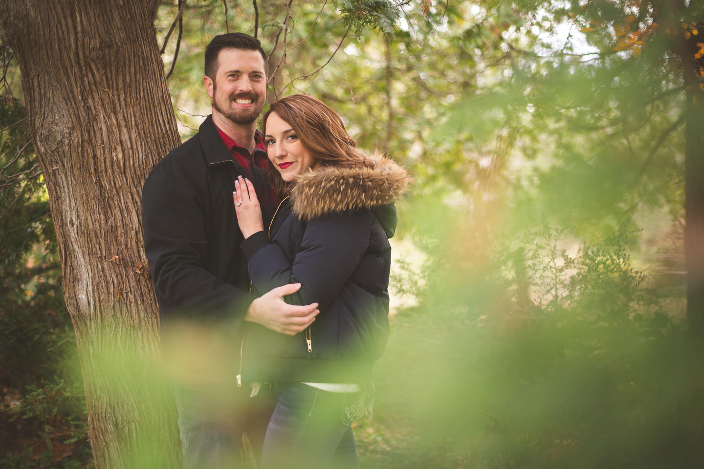 Cranbrook-Gardens-Engagement-Photo-Tree