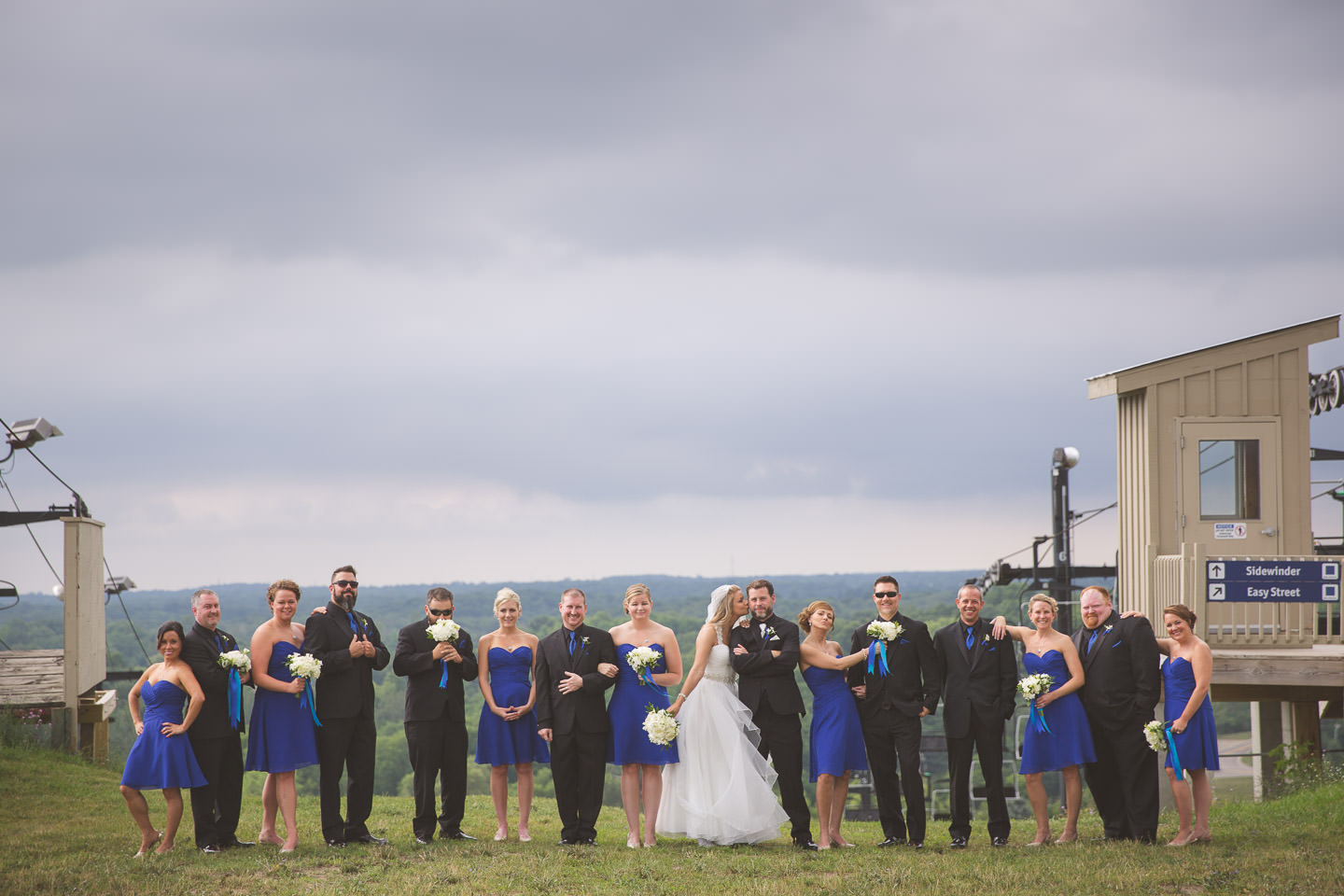 Mt-Brighton-Michigan-Wedding-Bridal-Party-Group-Photo