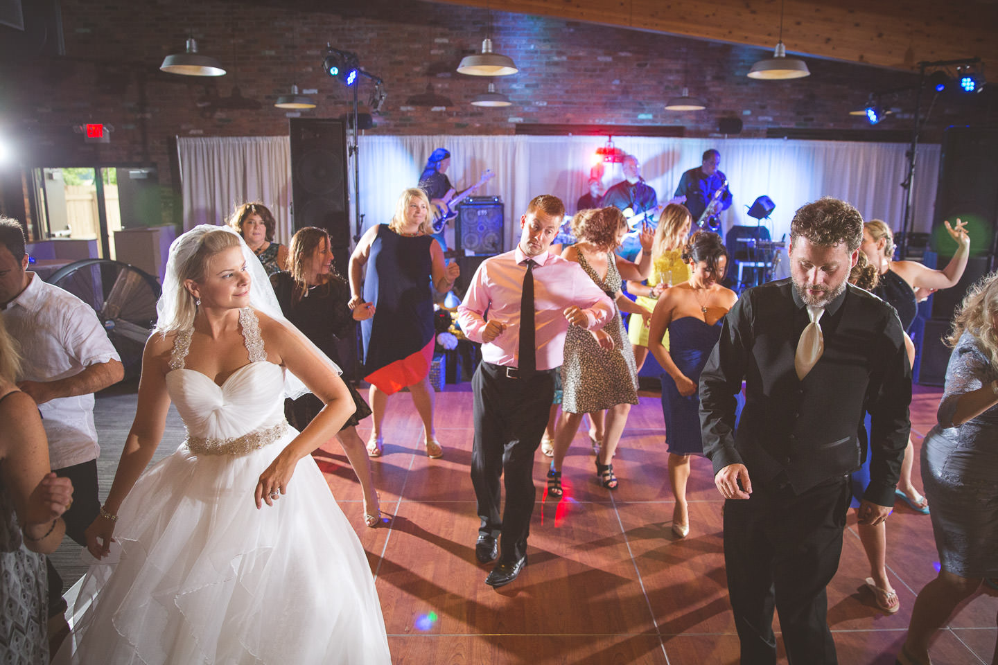 Mt-Brighton-Michigan-Wedding-Reception-Electric-Slide