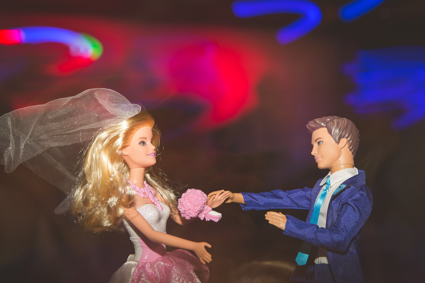 Mt-Brighton-Michigan-Wedding-Reception-Barbie-Ken-Dolls